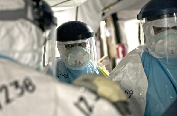 Ebola outbreak in Monrovia CC by USAID