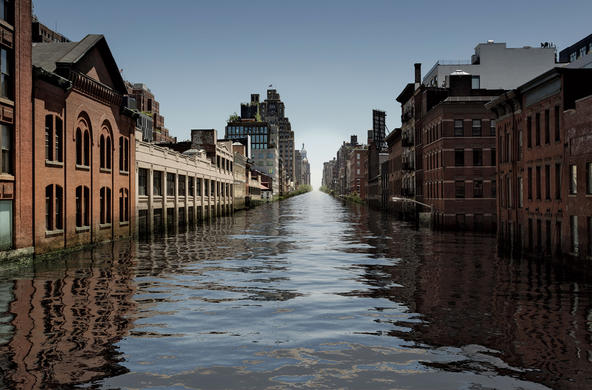 flooded city ©getty images