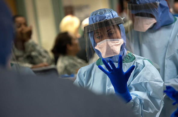 infection prevention and control training cc USAF
