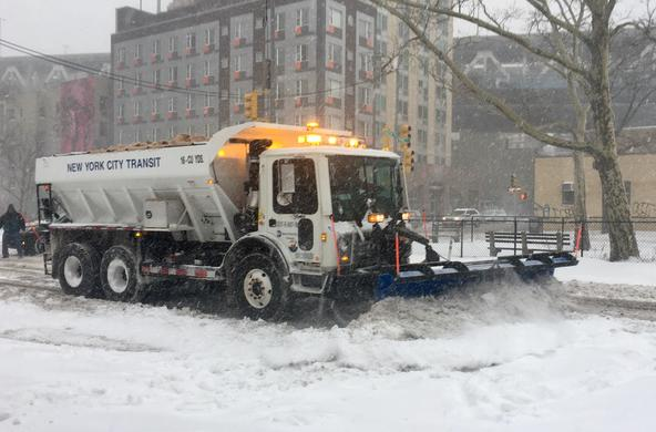 Plow in NYC