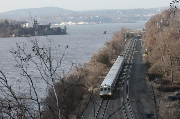 Train on the hudson
