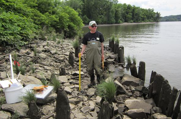 dave strayer sampling hudson river