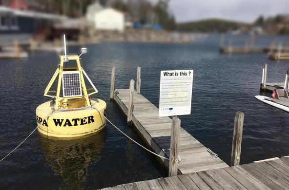 buoy lake sunapee
