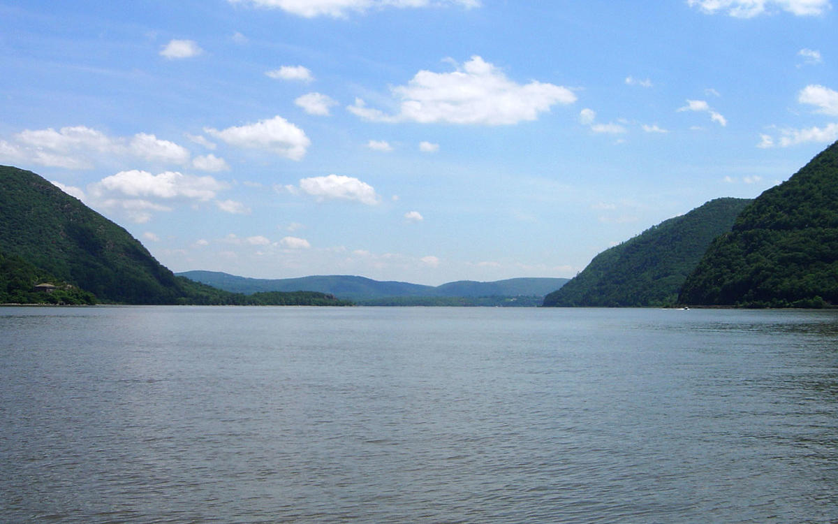 The Hudson River at Bear Mountain